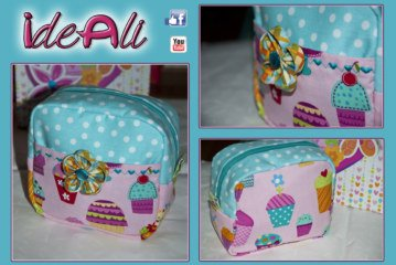 IdeAli – creazione di un beauty-case