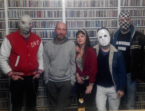 Rock DJ - intervista a Contessa and the Squires
