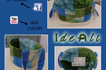 IdeALi – Cestino PaTcHwOrK