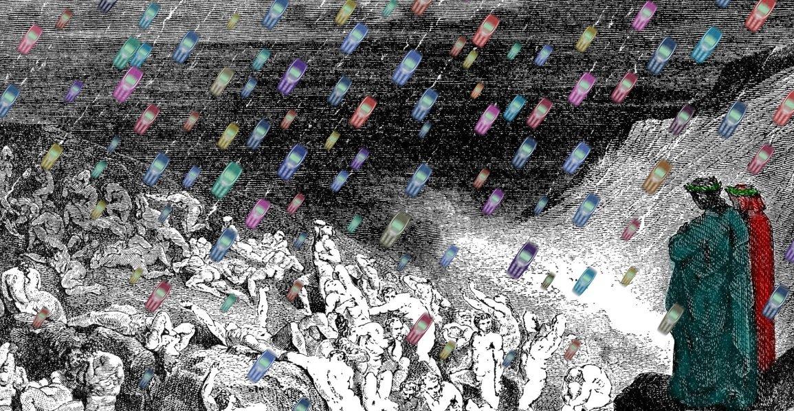 Inferno Selfie - Canto VIII° (Beccamorti)