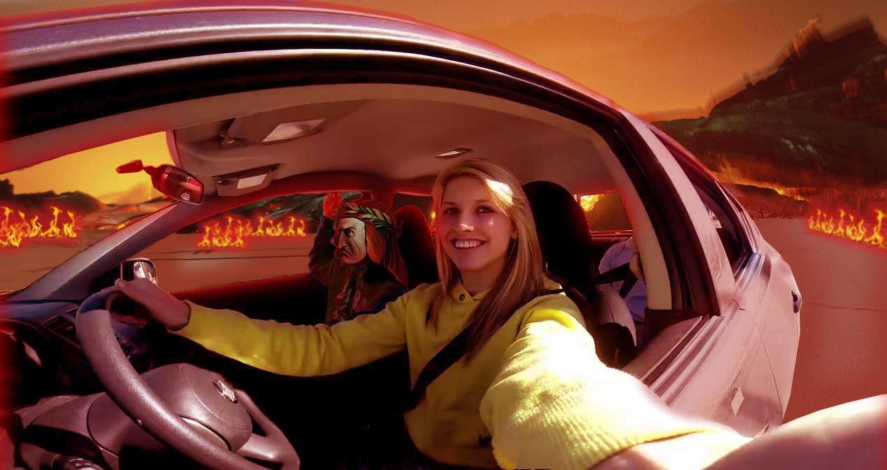 Inferno Selfie - Canto VII° (Automobilisti)