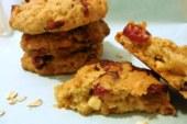 Find Flow – Cookies ai mirtilli rossi e cioccolato bianco