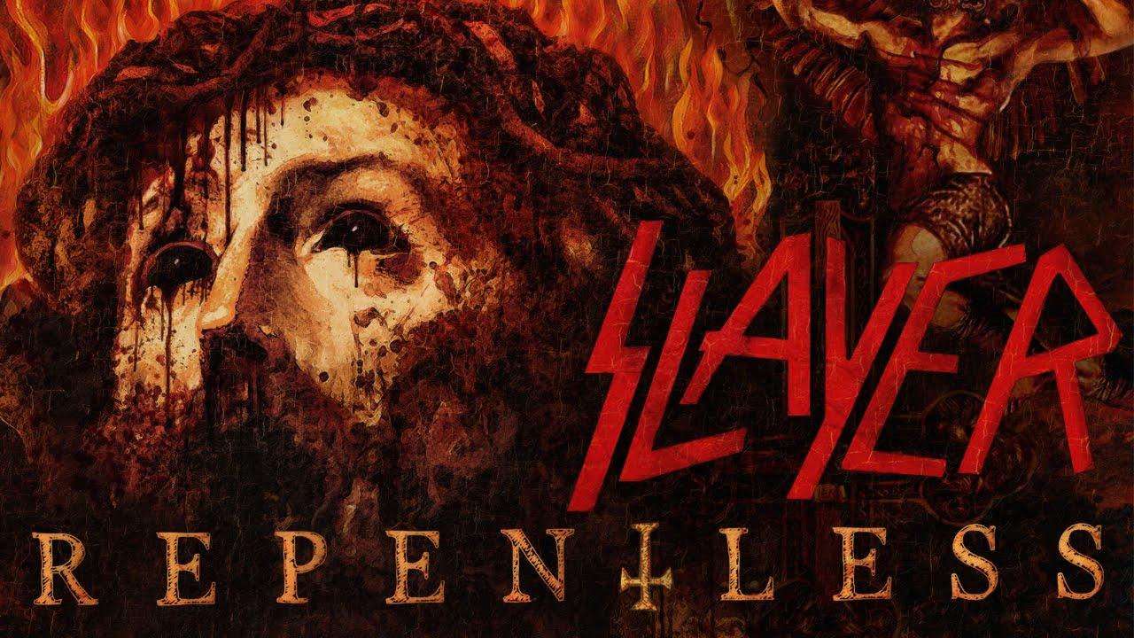 Fall in Rock - Slayer - Repentless