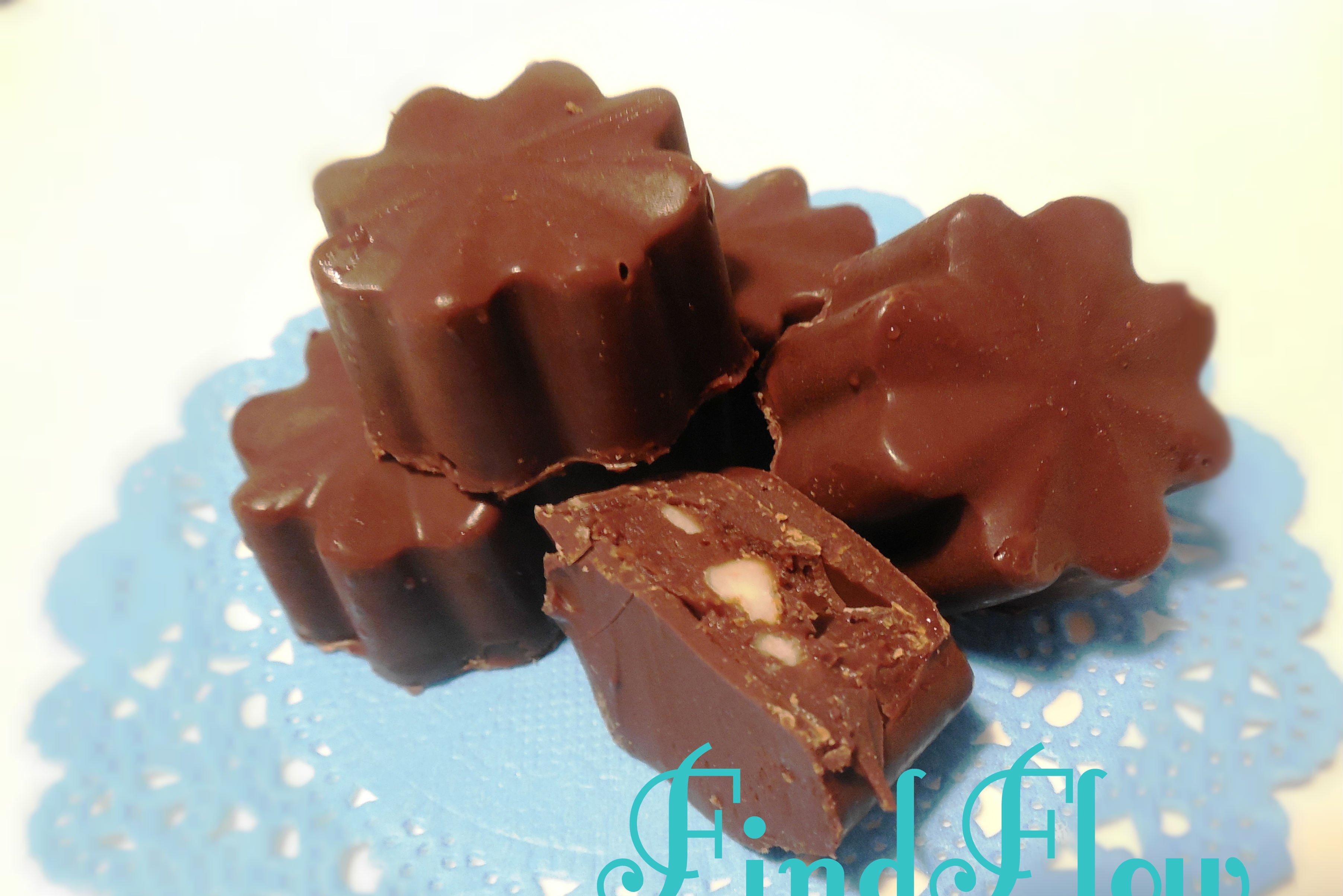 Find flow - Cioccolatini ripieni marsala e frutta secca