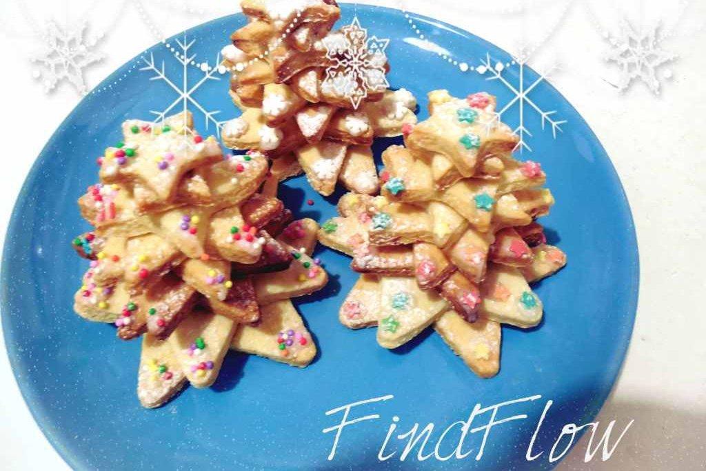 Alberelli di biscotto- Ricetta