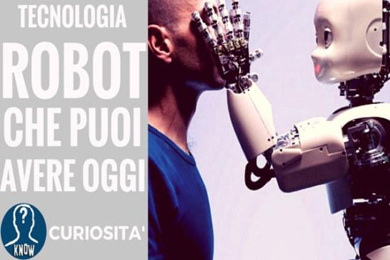 I migliori robot che puoi avere oggi