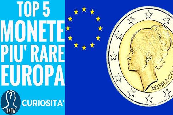 Le monete più rare e preziose d'Europa