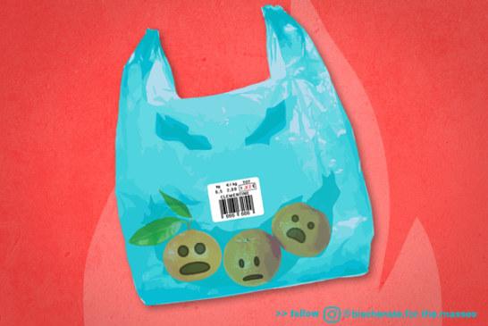 Come non pagare i sacchetti biodegradabili e fottere il sistema
