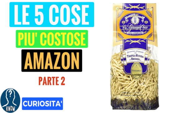 Le cose più assurde e costose su Amazon