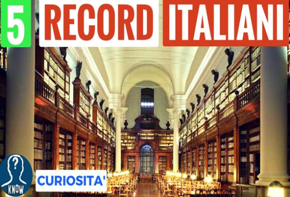 Gli storici record mondiali italiani