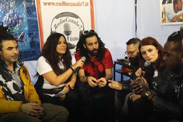 Intervista a Frank DD & Friends con Radiocanale 7