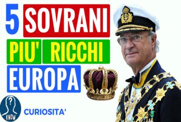 I regnanti più ricchi d'Europa