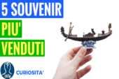 I souvenir più venduti in Italia