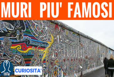 I muri più famosi della storia
