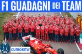 I guadagni dei team di Formula 1