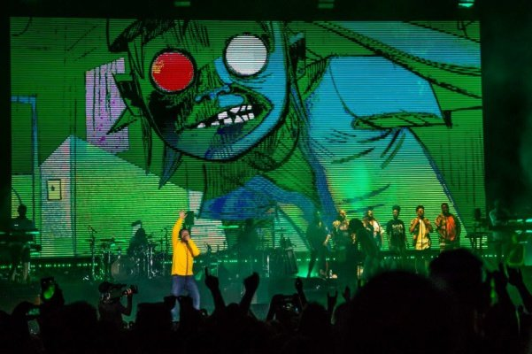 Gorillaz live @ Lucca Summer Festival - Recensione
