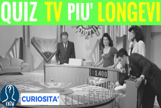 I QUIZ più longevi della televisione italiana
