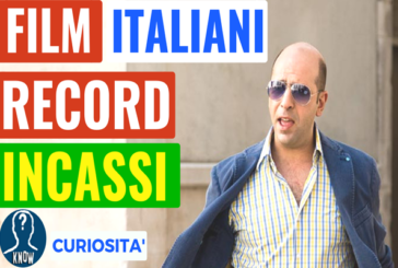 I film italiani da record di incassi