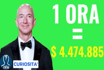 Le persone più ricche: chi guadagna di più in un'ora?