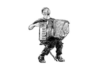 Vathek e il fisarmonicista