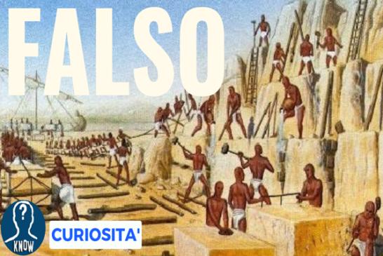 I miti storici da sfatare