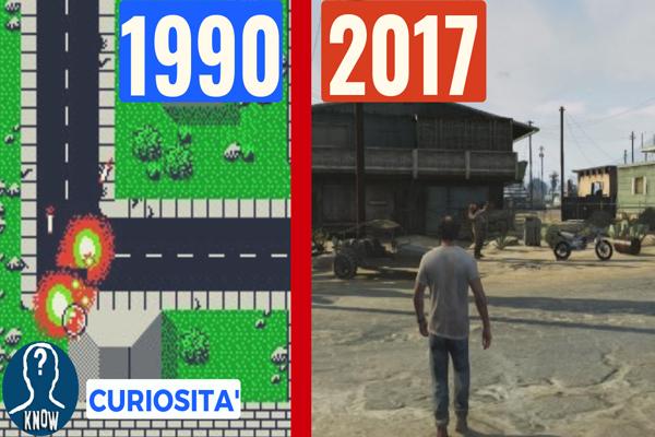 GTA: l'evoluzione del gioco dal 1990 a oggi
