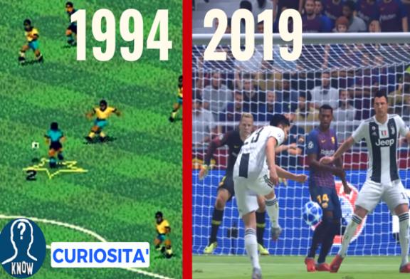 FIFA: l'evoluzione del gioco dal 1994 a oggi