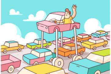 Come evitare il traffico in auto