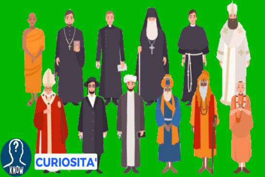 Le religioni e la loro diffusione nel mondo
