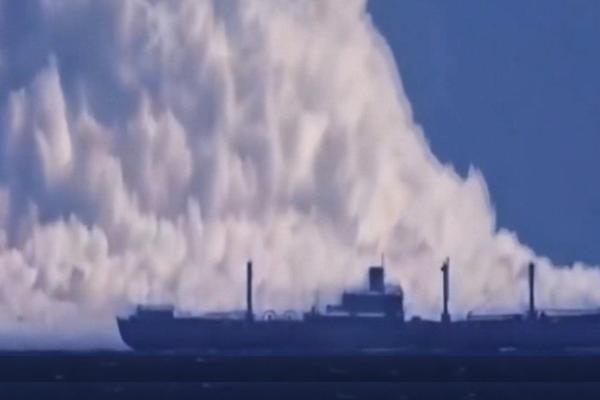 Disastri impressionanti ripresi in video