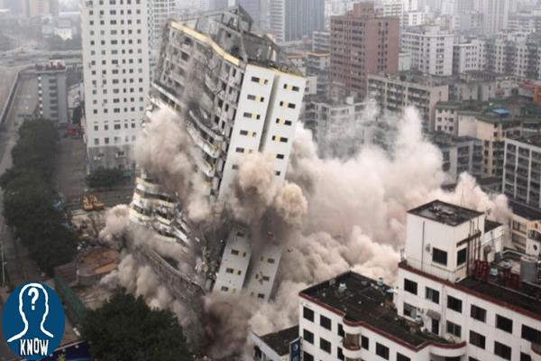 Terremoti fortissimi filmati in diretta