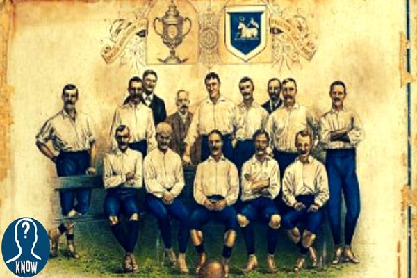 Il primo campionato di calcio della storia