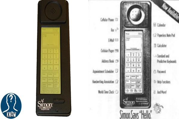 Il primo smartphone della storia