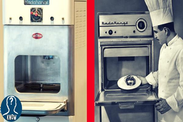 L'invenzione del primo forno a microonde