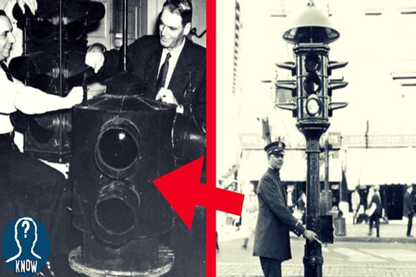 Il primo semaforo della storia