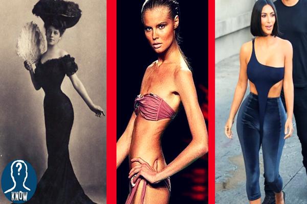 L'evoluzione dei canoni di bellezza femminile