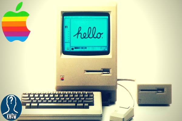 Il primo Apple Macintosh della storia