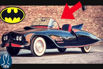 La storia della Batmobile