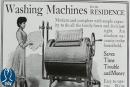 La storia della lavatrice