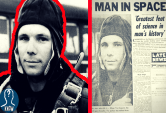Il primo uomo nello spazio