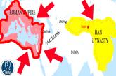 L'incontro tra Impero Romano e Impero Cinese